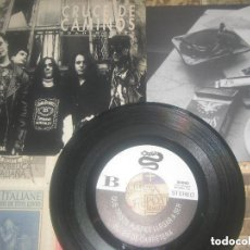 Discos de vinilo: CRUCE DE CAMINOS. EP 45 RPM. BOULEVARD DEL ATARDECER + 3. (EL COHETE 1992) OG ESPAÑA. Lote 146880930