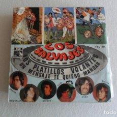 Discos de vinilo: LOS SALVAJES - LOS PLATILLOS VOLANTES 1968. Lote 146881514