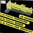 Discos de vinilo: JUDAS PRIETS (EN ESPAÑA) / FREEWHEEL BURNING / BREAKING THE LAW (SINGLE PROMO 1984). Lote 146881602