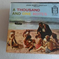 Discos de vinilo: JOHN SCOTT TROTTER - A THOUSAND AND ONE NOTES BLUE TANGO + 3 EP. Lote 146881718