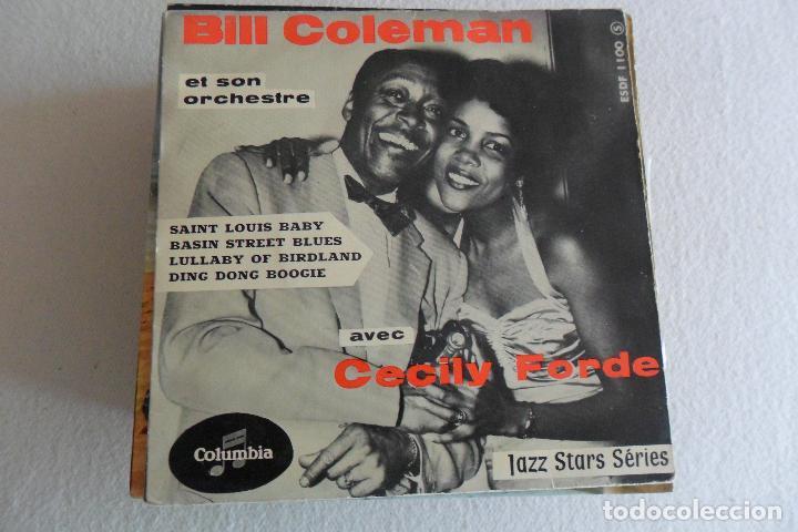 BILL COLEMAN - SAINT LOUIS BABY + E EP (Música - Discos de Vinilo - EPs - Jazz, Jazz-Rock, Blues y R&B)