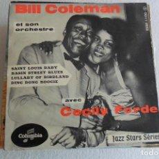 Discos de vinilo: BILL COLEMAN - SAINT LOUIS BABY + E EP . Lote 146882186