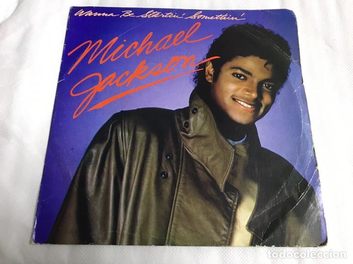 EP MICHAEL JACKSON. WANNA BE STARTIN SOMETHIN (Música - Discos de Vinilo - EPs - Pop - Rock Extranjero de los 70)