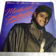 Discos de vinilo: EP MICHAEL JACKSON. WANNA BE STARTIN SOMETHIN. Lote 146883337