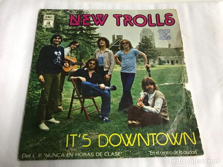 EP NEW TROLLS. IT'S DOWN TOWN (Música - Discos de Vinilo - EPs - Pop - Rock Extranjero de los 70)