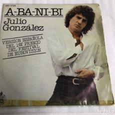Discos de vinilo: EP JULIO GONZÁLEZ. ABANIBI. Lote 146883958