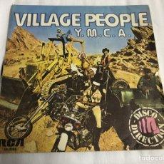 Discos de vinilo: EP VILLAGE PEOPLE. YMCA. Lote 146884369