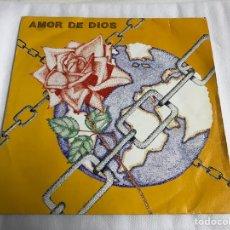 Discos de vinilo: EP JESÚS ZAZO. AMOR DE DIOS. Lote 146884578