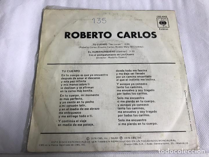 Discos de vinilo: EP ROBERTO CARLOS. TU CUERPO - Foto 2 - 146885081