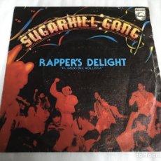 Discos de vinilo: EP RAPPERS DELIGHT. SUGARHILL GANG. Lote 146885220