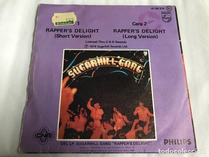 Discos de vinilo: EP RAPPERS DELIGHT. SUGARHILL GANG - Foto 2 - 146885220