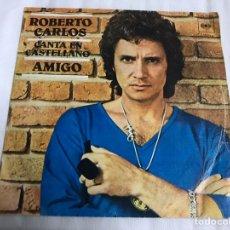 Discos de vinilo: EP ROBERTO CARLOS. AMIGO. Lote 146885365
