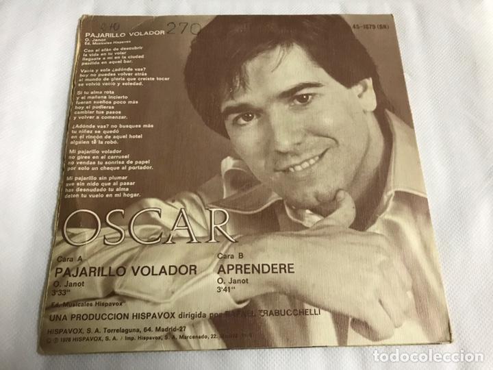 Discos de vinilo: EP OSCAR. PAJARILLO VOLADOR - Foto 2 - 146885520