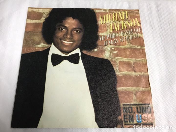 EP MICHAEL JACKSON. NO PARES ( HASTA QUE TENGAS SUFICIENTE ) (Música - Discos de Vinilo - EPs - Pop - Rock Extranjero de los 70)