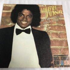 Discos de vinilo: EP MICHAEL JACKSON. NO PARES ( HASTA QUE TENGAS SUFICIENTE ). Lote 146885698