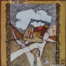 Discos de vinilo: HILARIO CAMACHO. DE PASO. LP MOVIEPLAY PORTADA SENCILLA.. Lote 146888174