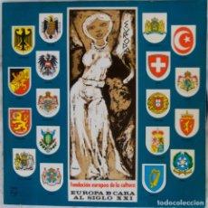 Discos de vinilo: EUROPA DE CARA AL SIGLO XXI. LOS JUNIOR´S. LOS INDONESIOS. LOS UNISONOS... LP ORIGINAL . Lote 146889874