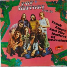 Discos de vinilo: FRAK ZAPPA AND THE MOTHERS OF INVENTION. POP HISTORY VOL 14. DOBLE LP ESPAÑA. Lote 146894366