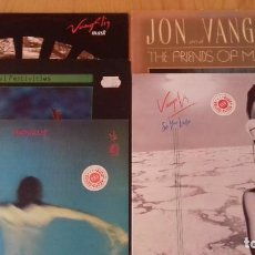Discos de vinilo: VANGELIS LOTE 5 LP. SEE YOU LATER, MASK, CHINA, SOIL FESTIVITIES, THE FRIENDS OF MR. CAIRO. Lote 146909798