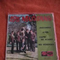 Discos de vinilo: LOS MUSTANG EP LA VOZ DE SU AMO EPL 14225. Lote 146912938