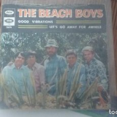 Discos de vinilo: SINGLE THE BEACH BOYS. GOOD VIBRATIONS. CAPITOL RECORDS 1966. BUEN ESTADO. Lote 146915126