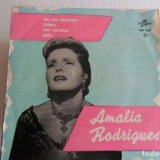 Discos de vinilo: AMALIA RODRIGUES - UNA CASA PORTUGUESA + 3 EP. Lote 146916102
