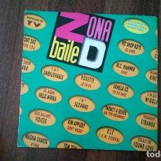 Discos de vinilo: ZONA D BAILE-DOBLE LP. Lote 146918134