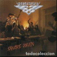 Discos de vinilo: SOBREDOSIS; SANGRE JOVEN, ORIGINAL CHAPA 1985, SIN PONER. Lote 146923966