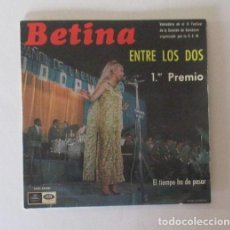 Discos de vinilo: BETINA - PRIMER PREMIO IX FESTIVAL DE BENIDORM. Lote 146924418