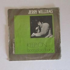 Discos de vinilo: JERRY WILLIAMS. Lote 146925162