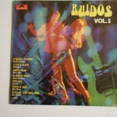 Discos de vinilo: RUIDOS. VOL. 5. LP VINILO CON 14 CANCIONES. CACHO CASTAÑA, BARRY BLUE, THE HOLLIES, FORMULA V, NINO. Lote 146926614