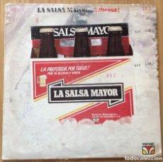 Discos de vinilo: LA SALSA MAYOR SABROSA EDIC VENEZUELA AÑO 1980 RARO SALSA. Lote 146929066
