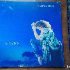 Discos de vinilo: DISCO DE SIMPLY RED STARS.. Lote 146930034