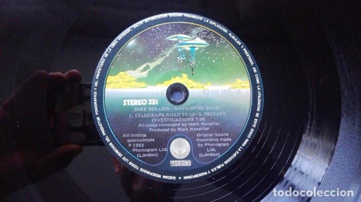 Discos de vinilo: DISCO DE DIRE STRAITS LOVE OVER GOLD. - Foto 4 - 146931186
