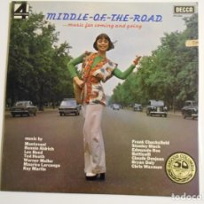 Discos de vinilo: MIDDLE-OF-THE-ROAD... MUSIC FOR COMING AND GOING. LP VINILO DECCA ESTEREO 4 FASES. VARIAS ORQUESTAS.. Lote 146931374