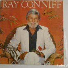Discos de vinilo: RAY CONNIFF. AMOR, AMOR. LP VINILO CBS. 12 TEMAS.. Lote 146935958