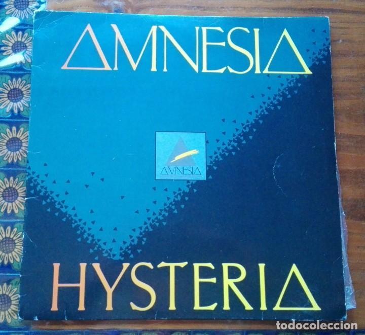DISCO DE AMNESIA HYSTERIA. (Música - Discos - LP Vinilo - Techno, Trance y House)