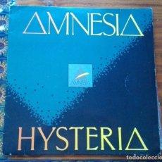 Discos de vinilo: DISCO DE AMNESIA HYSTERIA.. Lote 146937022