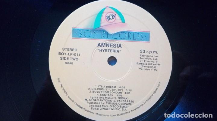Discos de vinilo: DISCO DE AMNESIA HYSTERIA. - Foto 4 - 252040245
