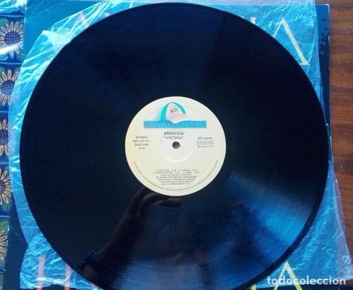 Discos de vinilo: DISCO DE AMNESIA HYSTERIA. - Foto 5 - 252040245