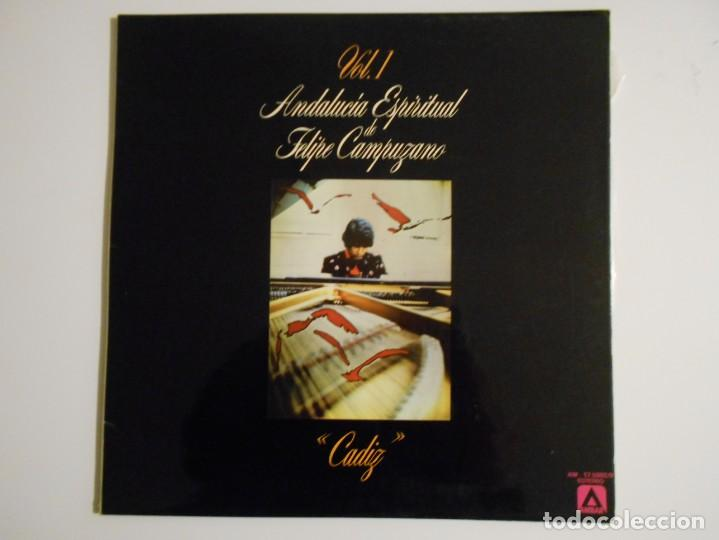 ANDALUCIA ESPIRITUAL DE FELIPE CAMPUZANO. VOL. 1. CADIZ. LP VINILO. 7 TEMAS. (Música - Discos - LP Vinilo - Orquestas)