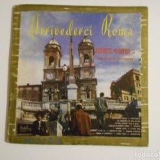 Discos de vinilo: ARRIVEDERCI ROMA. AUGUSTO ALGUERO ET SON GRAND ORCHESTRE. LP VINILO CON CANCIONES ITALIANAS. BELTER.. Lote 146942646