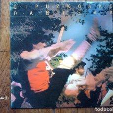 Discos de vinilo: GIPUZKOAKO DANTZAK - 2 - J. I. ANSORENA - J. A. ALTUNA - O. IZAGIRRE - A. LASKURAIN . Lote 146954334