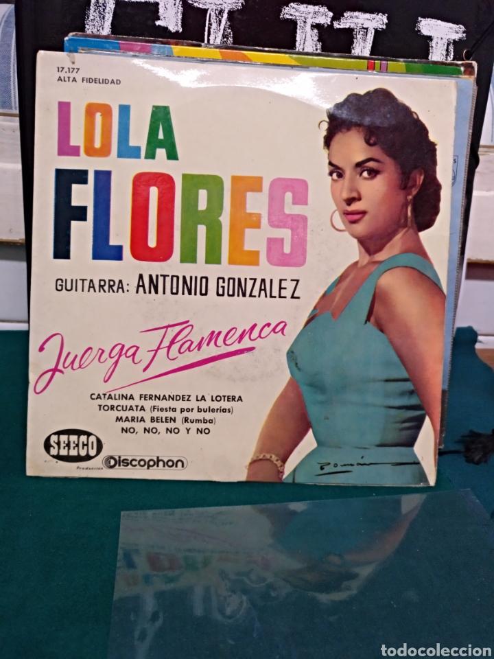 LOLA FLORES/ANTONIO GONZÁLEZ. EP DISCOPHON 1961 (Música - Discos de Vinilo - EPs - Flamenco, Canción española y Cuplé)