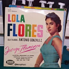 Discos de vinilo: LOLA FLORES/ANTONIO GONZÁLEZ. EP DISCOPHON 1961. Lote 146956225