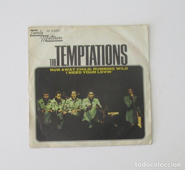 TEMPTATIONS (Música - Discos - Singles Vinilo - Funk, Soul y Black Music)