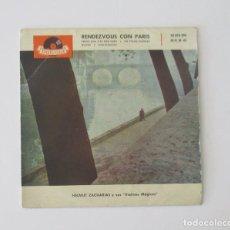 Discos de vinilo: RENDEZVOUS CON PARIS. Lote 146966410