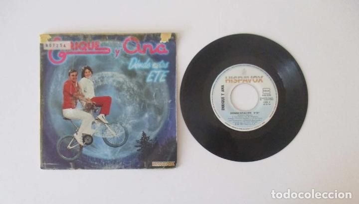 Discos de vinilo: ENRIQUE Y ANA - DONDE ESTAS ETE - Foto 2 - 146972722