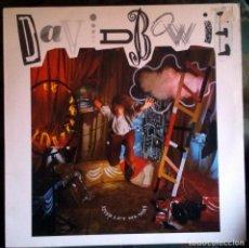 Discos de vinilo: DAVID BOWIE – NEVER LET ME DOWN LP, SPAIN 1987 INCLUYE ENCARTE. Lote 146974350