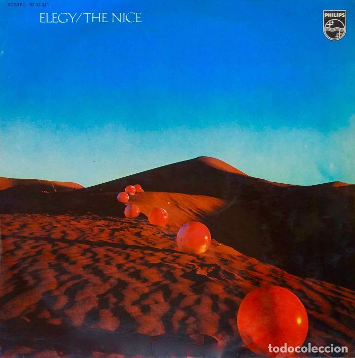 THE NICE. ( KEITH EMERSON ). ELEGY. LP ESPAÑA ORIGINAL 1971 (Música - Discos de Vinilo - EPs - Pop - Rock Extranjero de los 70)